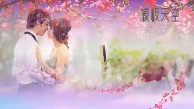 唯美浪漫之天使梦幻婚礼视频模板