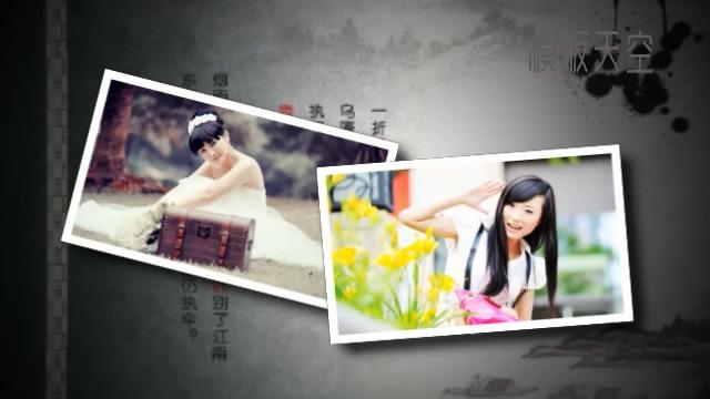梦里水乡之水墨中国风电子相册视频模板