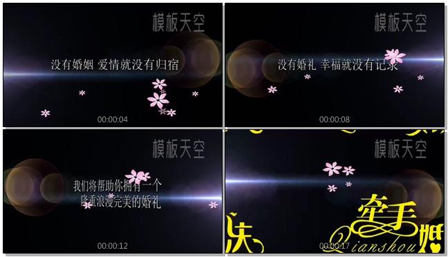 婚庆礼仪公司视频宣传片模板