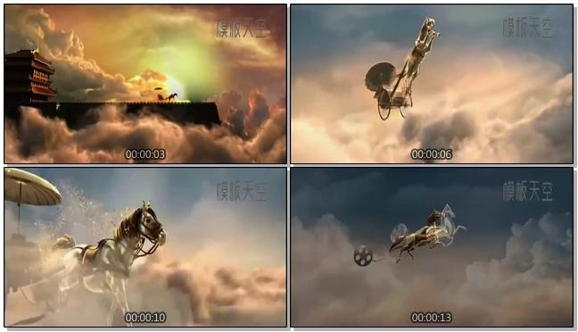 模仿电影大片的大气开场片头视频模板