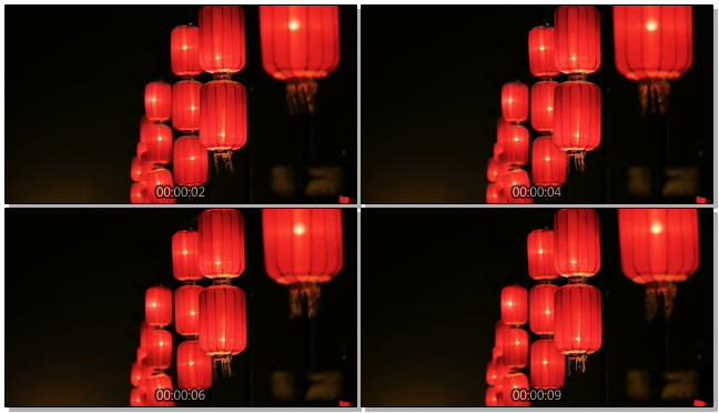 灯笼素材背景视频素材