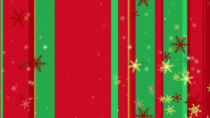 优雅的圣诞雪花飘落视频素材