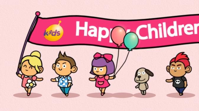 欢快的六一儿童节视频素材