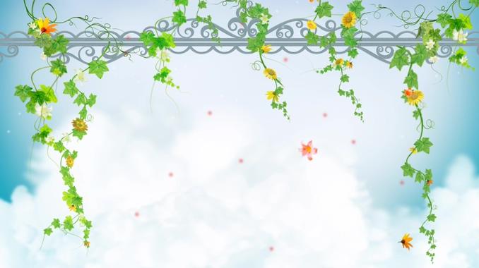 浪漫唯美的鲜花凋落视频素材