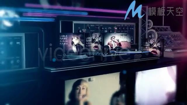 炫彩动态时尚音乐之夜视频影视包装AE模板