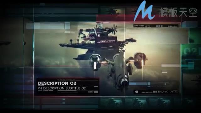 高端科技教学视频影视包装AE模板