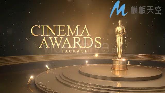 电影电视剧奖励颁奖盛典影视包装AE模板