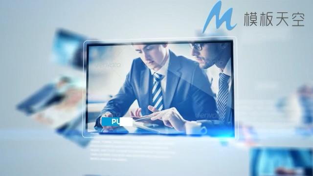 商务多元化视频图片文字AE模板