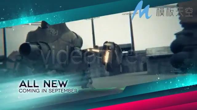 电视新闻预测总览影视包装AE模板
