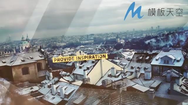 动态微视力动感图片视频AE模板