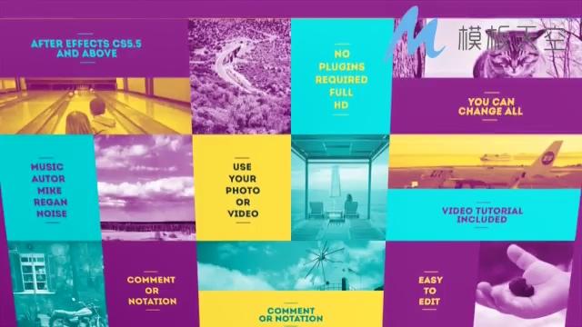 团队商务产品介绍时尚动感AE模板