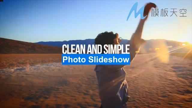 清新简洁动态记录视频时尚动感AE模板
