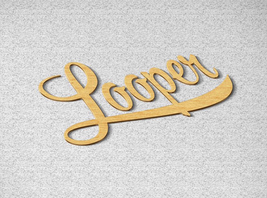 金色时尚大气LOGO标识