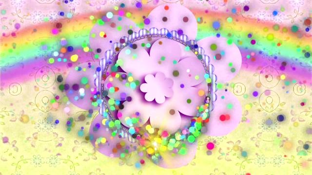 充满童趣的彩色糖果视频素材