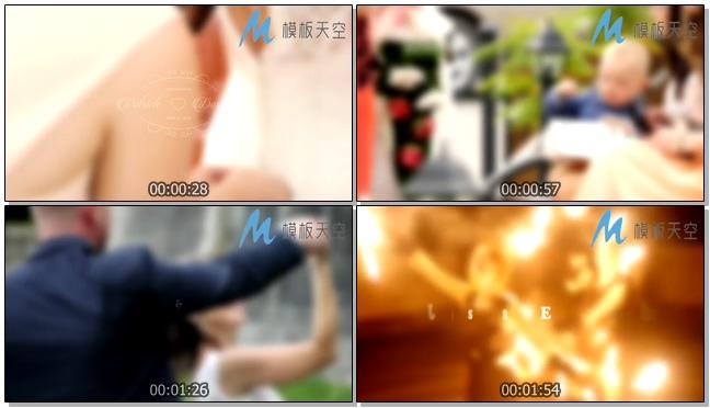 130110113婚庆标题动画
