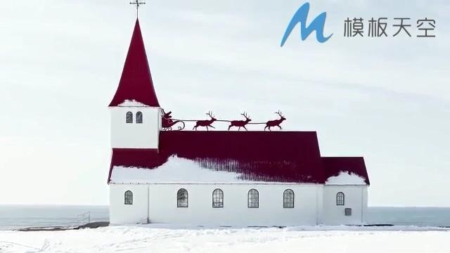 131210116圣诞老人雪橇动画片头