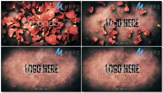 130110104 情人节花瓣标志