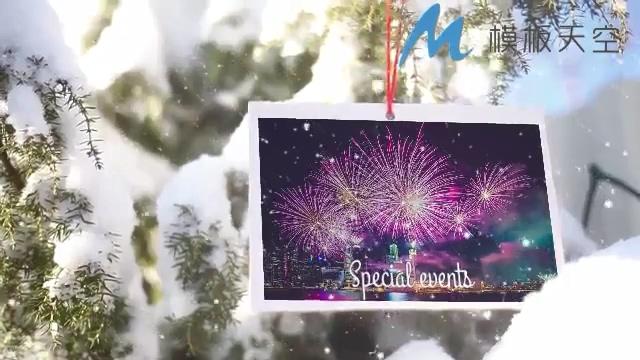 131210111 雪花圣诞相册展示