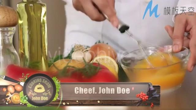 130510159烹饪电视栏目包装