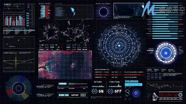 131310076科幻界面动画元素