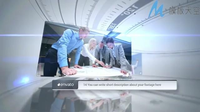 130710242 空间圆弧企业发展史宣传片