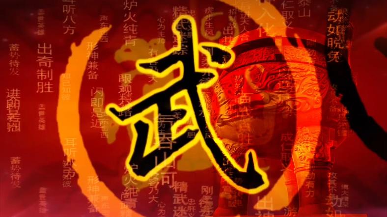 震撼大气的中国武术表演视频素材