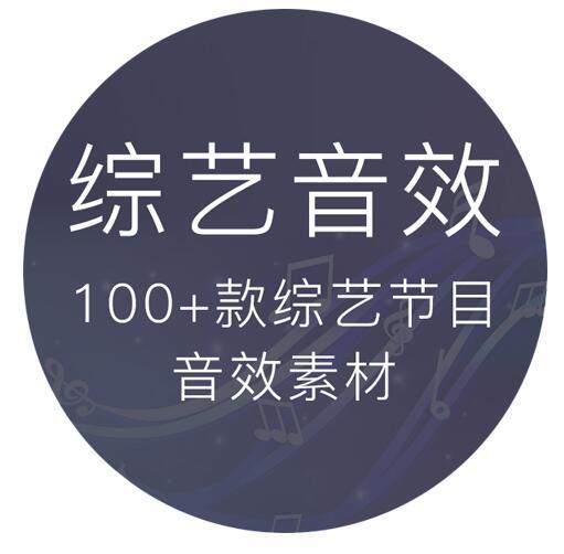100多个综艺真人秀花字幕搞笑背景音效素材下载