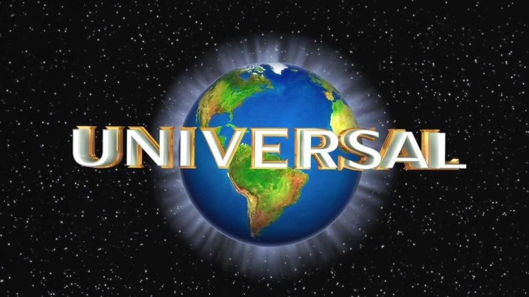 以地球和浪漫星空为背景的环球影业视频