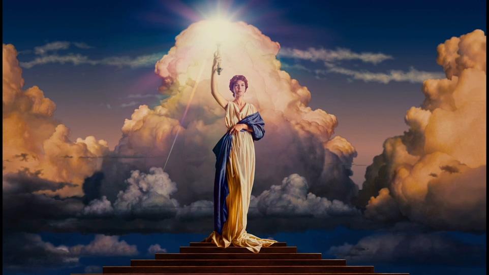 经典的女神手握权杖的哥伦比亚标志背景视频