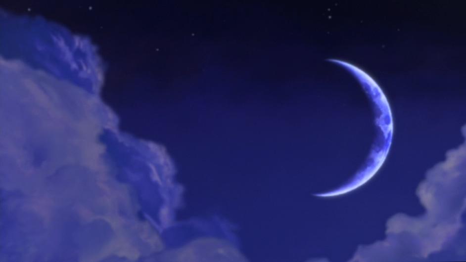 浪漫唯美的紫色星空梦工厂片头背景视频