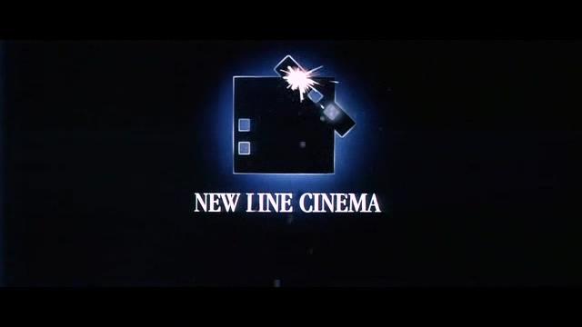 新线电影公司标志背景视频