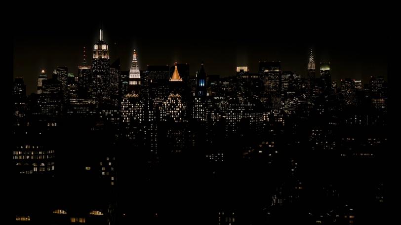 以城市灯火最终形成米拉麦克斯标志的背景视频