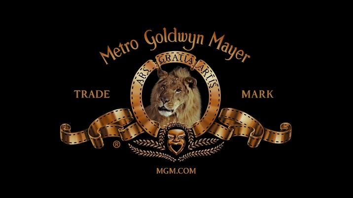 好莱坞米高梅影视公司标志的背景视频