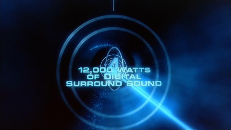 IMAX宣传片形成粒子logo的背景视频
