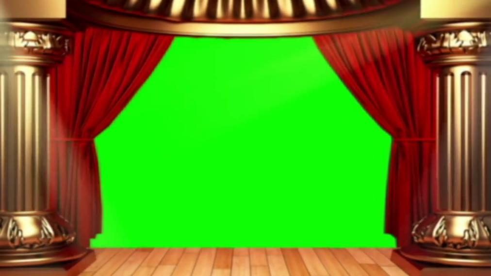 动感震撼的舞台灯光闪烁视频素材