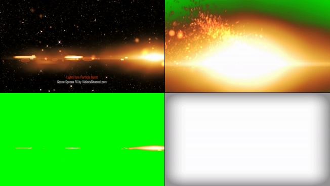 动感震撼的星光粒子时尚宣传的视频素材