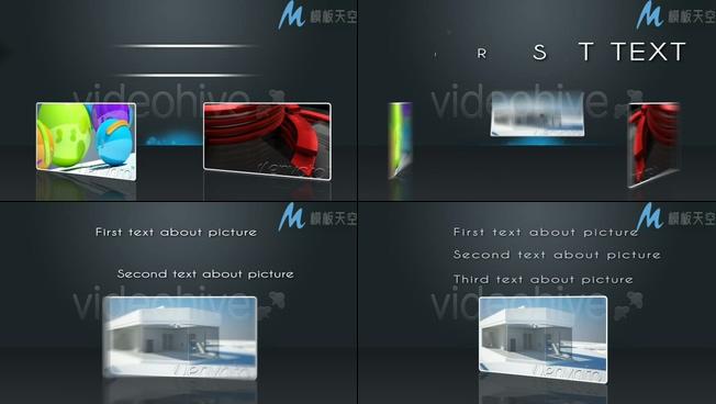 简洁好看的产品展示宣传AE模板
