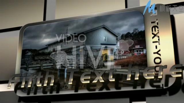 金属高科技感产品宣传展示AE模板