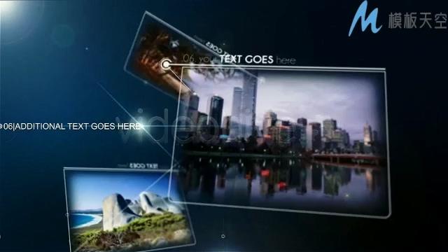 科技宣传相册互联网公司商务展示AE模板