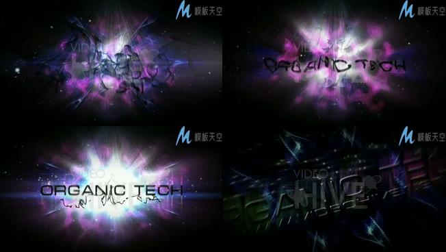 魔幻光线特效魔法微电影片头AE模板