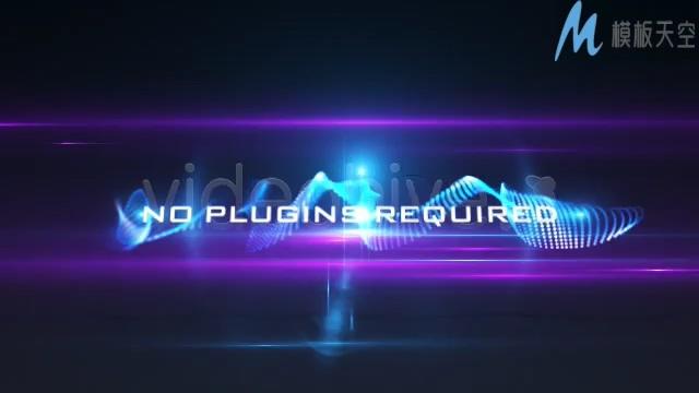 晚会视频高端经典特效光晕粒子AE模板
