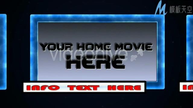 好莱坞电影片头特效宣传片头AE模板