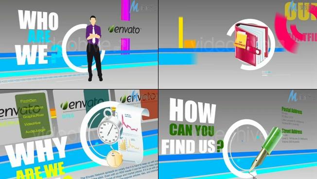 商业活动促销宣传产品展示ae模板