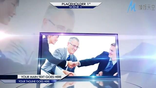 大气经典的商务宣传展示AE模板