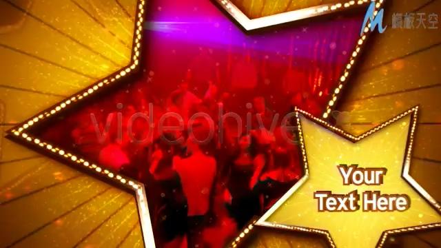 超级明星生日节日庆典AE模板