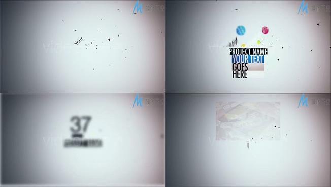 新产品上市宣传展示AE模板