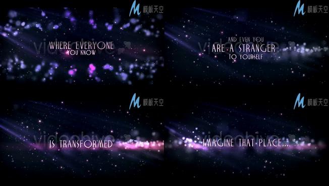 宇宙起源解说科幻宣传记录片AE模板
