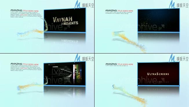 企业单位商务宣传片视频AE模板