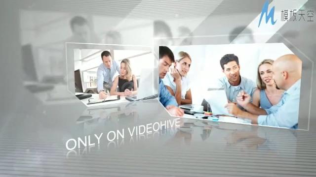 现代农村合作社商务广告视频AE模板