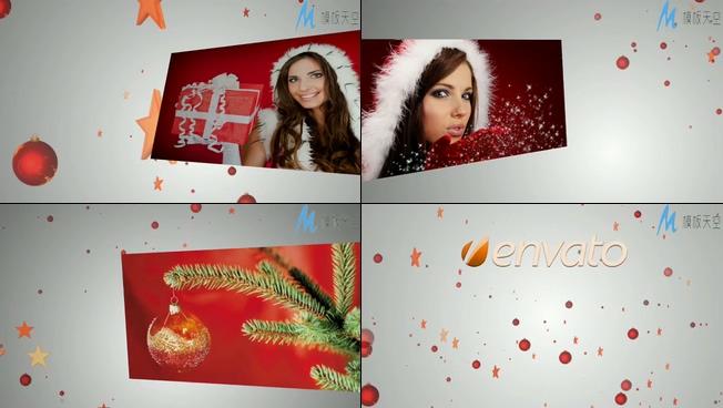 欢乐喜庆的节日庆祝片头视频AE模板